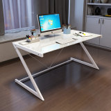 Modern Simple Style Z Shape Study Computer Desk for Home