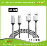 Metal Plug Type C USB Cable for Data and Charging