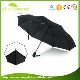 Custom Solid Customized 3 Fold Umbrella