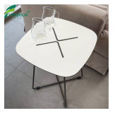 Phenolic Compact HPL Marble Dining Table