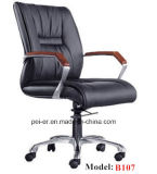Ergonomic Office Home Furniture Classic Swivel Leather Chair (PE-B107)