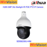 Original Dahua Brand SD59230u-Hni 150m Outdoor Auto Tracking IR Distance H. 265 Poe 2MP 30X Zoom 1080P Bullet IP PTZ Speed Dome CCTV Security Camera