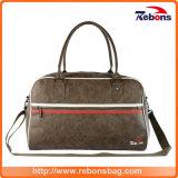 PU Craft Duffel Designer Leather Spotrs Travel Bag for Men