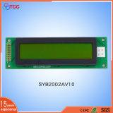 20X2AV10 Yellow/Green LCD Character Display 20*02 LCD Board
