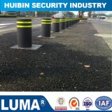 Automatic Hydraulic Rising Bollards Traffic Blocker LED Bollard