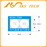 Self Adhesive Thermochromic Dishwasher Temperature Label