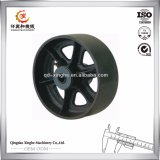 Auto Parts Ss 304 Precision Casting Wheel with Machining