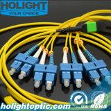 8 Core MPO to Sc Sm Fiber Optic Patch Cable