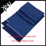 High Fashion 14mm Twill Printed Silk Scarf with Tassel