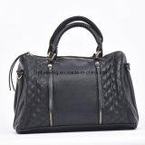 Tassel Decoration Plain Grain Women Handbag Shoulder Bag