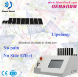 Medical Ce Approved Portable 650nm Lipolaser Fast Slimming Machine