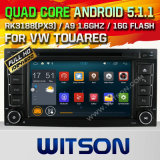 Witson Android 5.1 Car DVD for VW Touareg 2002-2010 (W2-F9248V)