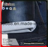 Stock! ! Beautiful Indigo Stretch Woven Spandex Twill Weave Denim Fabric