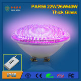IP68 Waterproof Thick Glass 40W PAR56 LED Swimming Pool Light