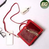 Ladies Cube Shoulder Ba G Suede Crossbody Women Leather Handbags Manufacture Emg4858