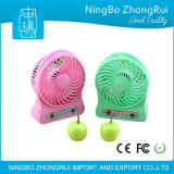 Cooling Rechargeable Mini Fan USB Charger Power Bank 2600mAh Power Bank