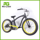 Cheap Pric 48V 500W Men Electric Beach Cruiser with 26*4 Fat Tyre