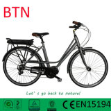 OEM Manufacture Pedelec City Ebikes with Rear Rack Li-Battery