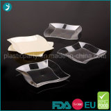 Clear/Transparent Color Plastic PS Disposable Party Round/Square Plate