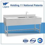 Europe Top Rated Stainless Steel Sink with Double Bowls