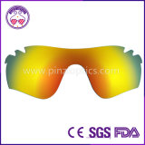 Sunglasses Lenses with Cutting Finished for Oakley Radar Lock Path