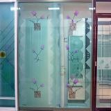 4mm Painted Acid Etched Glass for Home Decoration
