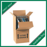 Custom Design Moving Wardrobe Box Packaging Clothes