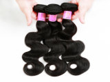 "Wholesale Price Brazilian Human Hair 100% Human Hair Weaving Body Wave18"" Natural Black Color"