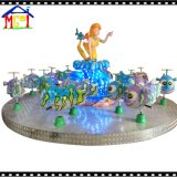 Beauty Fish Carousel Amusement Park Kiddy Ride Roundabout Game