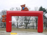 Inflatable Cartoon Archway Inflatable Entrance Arch for Children
