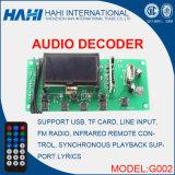 USB TF Card MP3 Decoder Board 12V with FM Radio (G002)