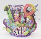 Custom 3D Paper Birthday Christmas Greeting Invitation Card