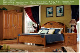 America Type Wooden Bedroom Set Furniture (1530)