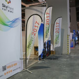 Promotion Custom Outdoor Swooper Teardrop Feather Banner Flag