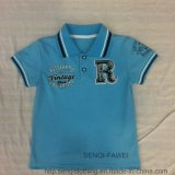 Blue Polo Style Boys T-Shirt Sq-6334