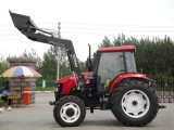 100HP 4X4 Wd Farm Tractor with Front Loader