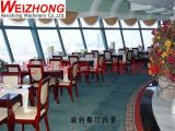 Revolving Restaurant Pin-Gear Drive System in The TV & Radio Tower