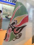 Digital Printing Colorful Perforated One Way Vision Glass Window Vinyl Sticker Film