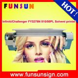 Challenger Fy3278n 3.2m Outdoor Digital Solvent Plotter with 4 or 8 Spt 510/50pl Heads Promotion Price Now