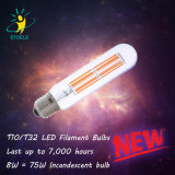 LED Filament Bulb Tubular T32 6W Decorative LED Bulb