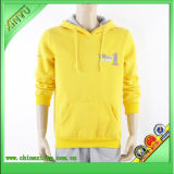 Wholesale Mens Yellow Fleece Pullover Plain Hoody