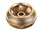 Copper Alloy Investment Casting/ Sand Casting/ Die Casting Impeller