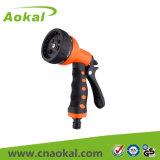 7-Pattern Plastic Water Spray Nozzle Gun