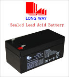 Emergency Lighting Sealed Rechargeable Lead-Acid Battery (6V3.2AH/20HR)