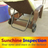 Outdoor Furniture Inspection Service / Rattan Furniture Pre-Shipment Inspection in China and in Indonesia