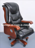 Solid Wood Base with Wheel Casters Office Chair Foh-1152