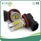 10W COB with CREE 6000k H11 LED Bulb