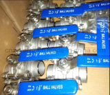 API Stainless Steel 304 3PCS Butt Welding Ball Valve