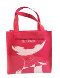 Patent Shiny PVC Small Ladies Tote Shopper Bag Pink Colour