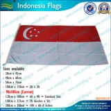90X180cm 160GSM Spun Polyester Singapore Flag (NF05F09025)